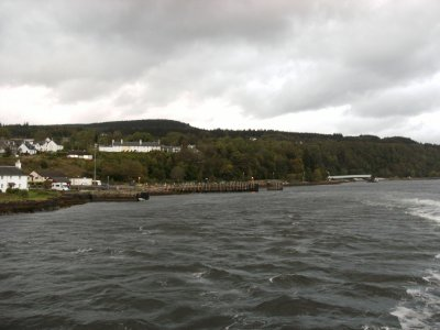 Lochaline from the Fishnish ferry
