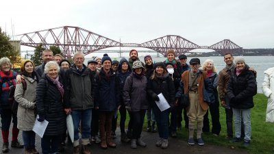 Guided walk along the shore to Cramond