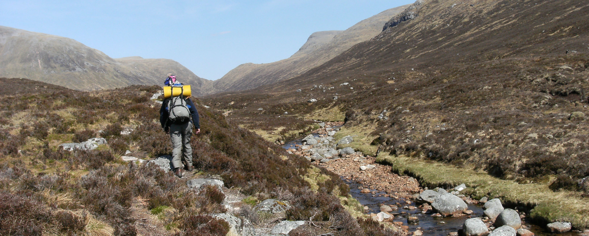 Heading towards Ben Alder